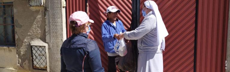 Bolivien: Existenzhilfe für 27 Ordensschwestern in der Andendiözese Oruro