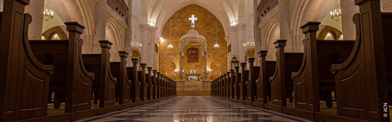 Syria: Maronite Cathedral of St. Elijah will be new consecrated after war destruction