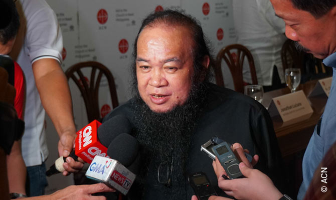 "Father Teresito ""Chito"" Soganub, former Vicar General of the Prelature of Marawi."