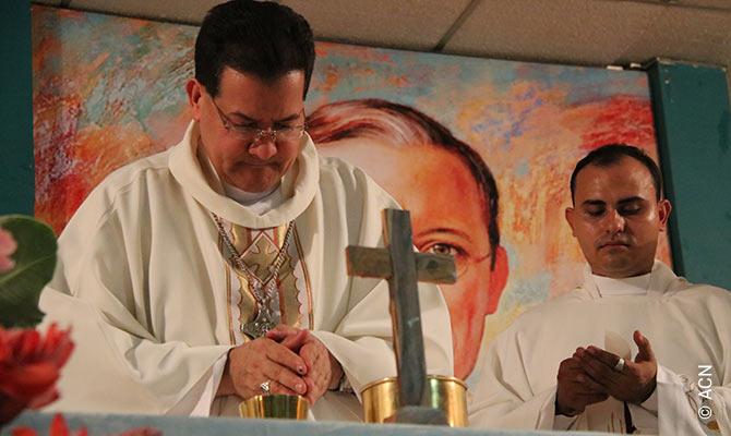Bischof Polito Rodríguez Méndez von San Carlos in den Llanos Centrales de Venezuela (Zentralebene).