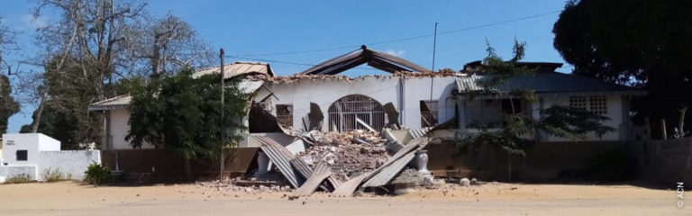 "Mozambique: the last three years have been ""an experience of the cross"""