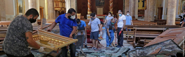 Lebanon: Christians defy land-grabbers