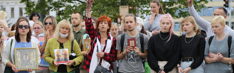 Belarus: ACN to participate in the call for prayer issued by the Catholic Metropolitan of Minsk-Mohilev