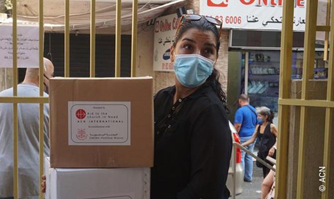 """""""Ein Strahl der Hoffnung in Beirut""""."""