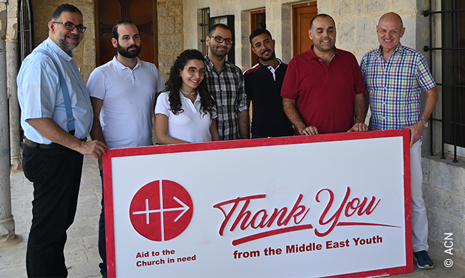 Lebanon: They count on us for help – both spiritual and financial.