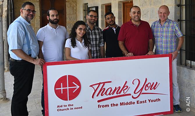 Líbano: Confían en nuestra ayuda, tanto espiritual como económica.