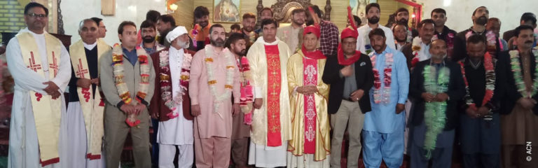 A Pakistani Catholic released after five years in prison for murder he didn't commit, tells his story