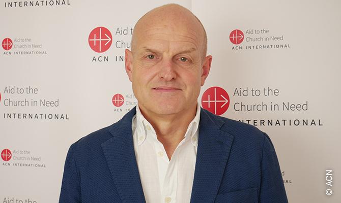 Reinhard Backes, Projektleiter beim Hilfswerk Aid to the Church in Need.