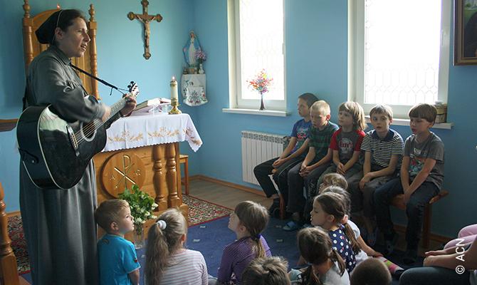 Russland: Existenzhilfe für 69 Ordensfrauen.