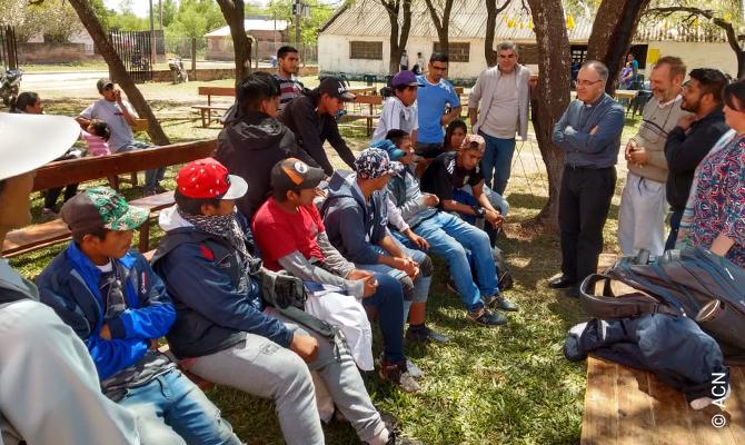 "Argentina: Support for the Catholic radio station ""Radio Maria Auxiliadora""."