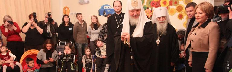 Russland: Unterstützung für Renovierungsarbeiten am orthodoxen Kinderhospiz in Sankt Petersburg