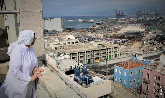 Se trata de proyectos de reconstrucción de edificios religiosos, todos ubicados en las inmediaciones del lugar de la explosión.