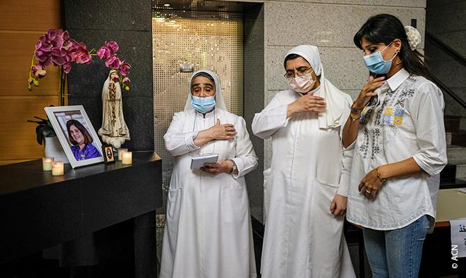 ACN también apoyará la reconstrucción de varios conventos de religiosas