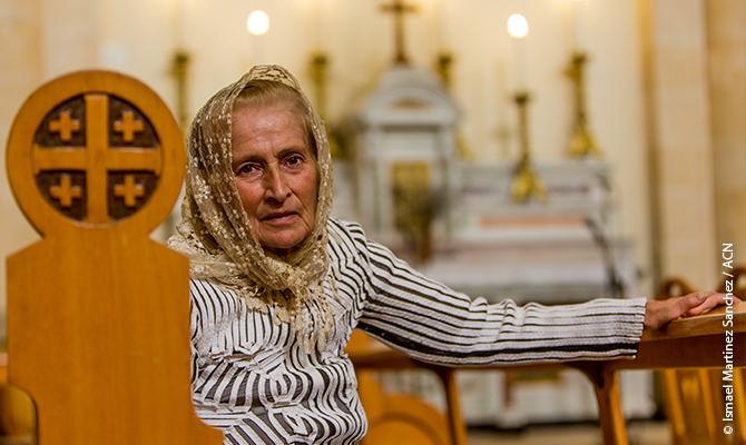 Das Internationale Hilfswerk ACN unterstützt mehr als fünfzig Projekte für die Christen in Syrien