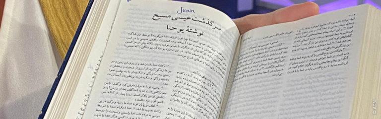 Cristiano converso de Irán: «La Biblia es todo lo que tengo»