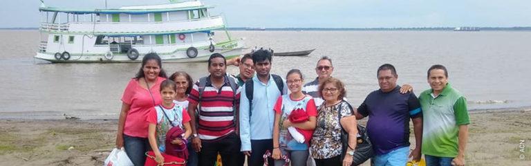 Brasil: Un barco para la pastoral en una parroquia del Amazonas