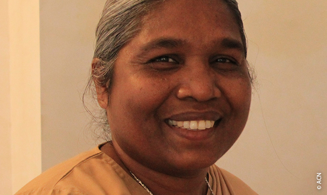 """""""Sr. Suchita gave her life for the poorest and the weakness"""""""