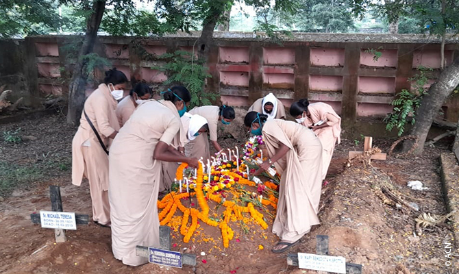 Sr. Suchita passed away on the 23rd of October, in Rourkela, India