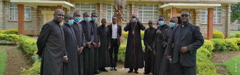 Kenia: Ayuda a la formación de 81 futuros sacerdotes de la Diócesis de Eldoret