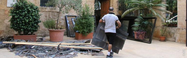 """Libanon: """"Unsere Aufgabe ist es, Licht in die Dunkelheit zu bringen, in der wir leben"""""""