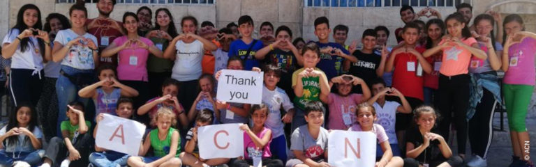"SYRIA: ""Together we can put a smile on the children's faces"""