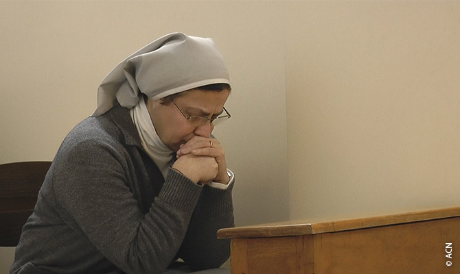 Sister Annie Demerjian, a Syrian religious sister of the Congregation of Jesus and Mary
