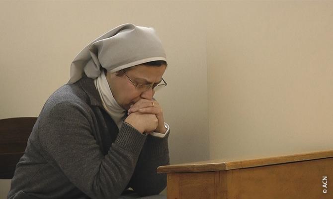 Schwester Annie Demerjian, die Ordensfrau aus der Kongregation von Jesus und Maria