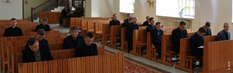 Belarus: Help for the training of 25 seminarians in Grodno