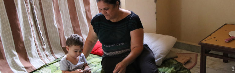 Líbano: La lucha diaria de Georgette para alimentar a sus tres nietos