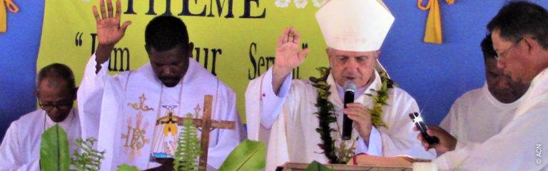 Solomon Islands: Mass stipends for the sixteen priests of the diocese of Gizo