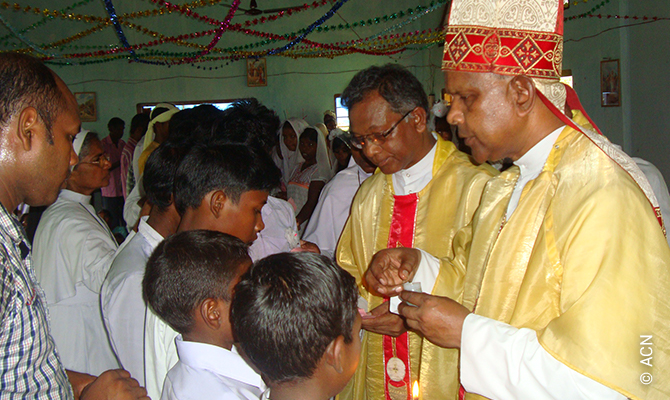 India: Mass stipends for 113 priests in the diocese of Tezpur.