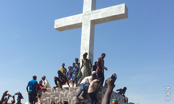 Nigeria: 'No evil will take away our faith'.