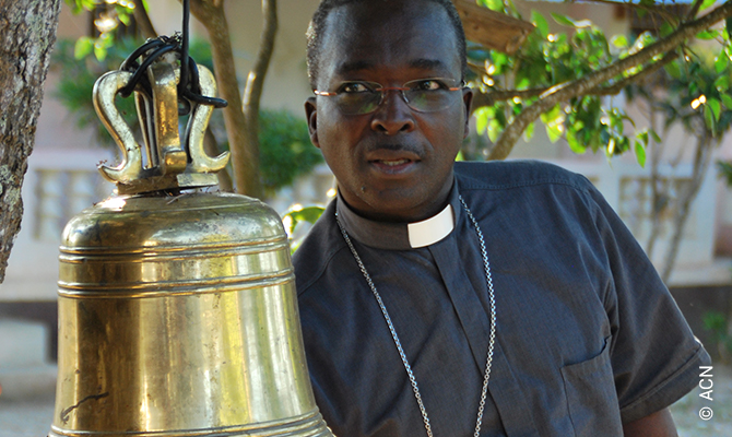Haiti, diocese of Hinche in January 2017 - Bishop Desinord Jean.
