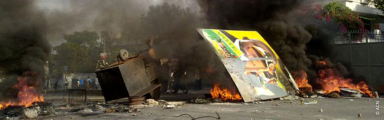 Haitian bishops deeply saddened by the assassination of the president and the violence in the country