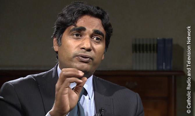 Shahid Mobeen, Pakistani Professor of Philosophy in Rome.