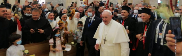 Papal visit to Iraq's largest Catholic town creates hope that Christians will return