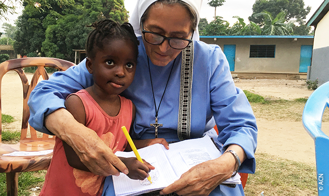 The Daughters of Mercy are particularly involved in the education and upbringing of girls and young women.