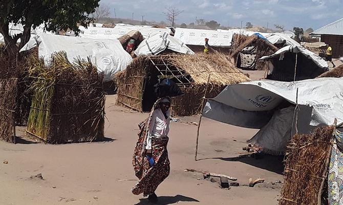 Salvar de la desesperación: Campo de refugiados de Pemba.