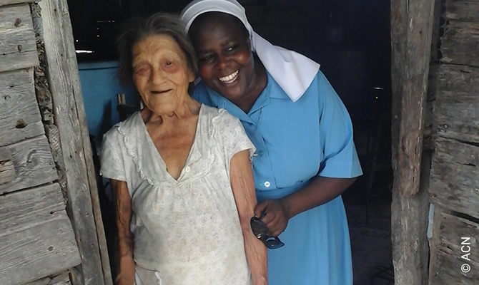 Kuba:Existenzhilfe für zwei Ordensfrauen in Palma Soriano.