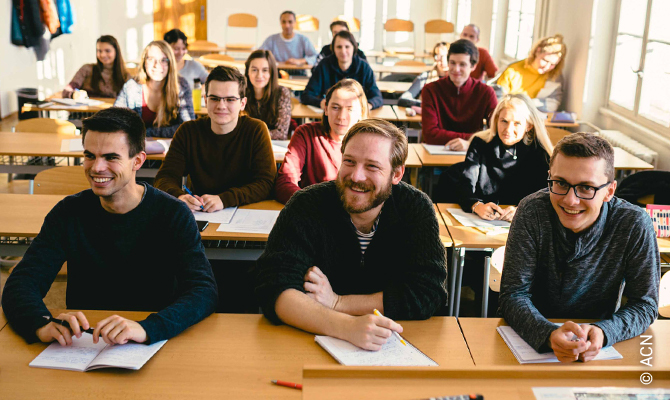 Czech Republic:Help for the training of 15 seminarians in the archdiocesan seminary of Prague.