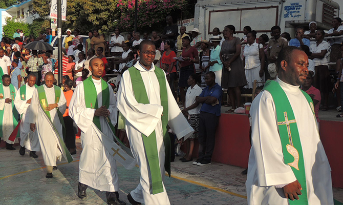 The cases of abductions of clergy and religious have increased recently