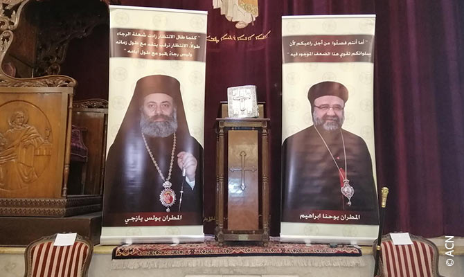 Eight years after the abduction Christians in Aleppo hope for a safe return of the Syrian Orthodox Bishop Youhanna Ibrahim and the Greek Orthodox Bishop Boulos Yazji.