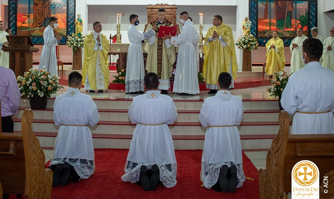 31 jóvenes varones de la diócesis están alojados en el Seminario Mayor San Juan Pablo II