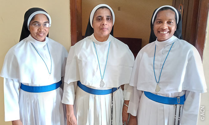 The Sisters of the Adoration of the Most Blessed Sacrament.