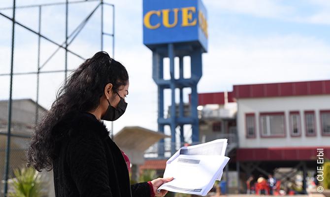 CUE – Catholic University Erbil: Este es mi lugar.