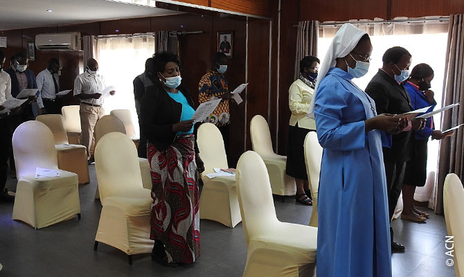 Zambia: PPE against Covid-19 for priests and religious in three dioceses.