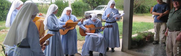 Argentina: Ayuda a la formación y al sustento para 20 religiosas