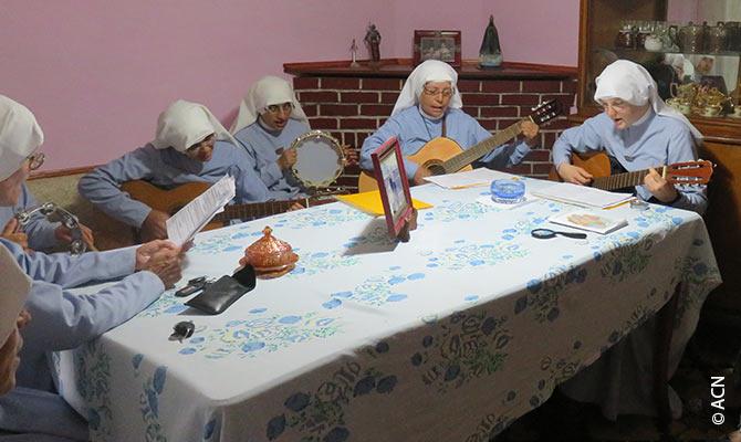 Argentine: Aide à la formation et à la subsistance pour 20 religieuses.