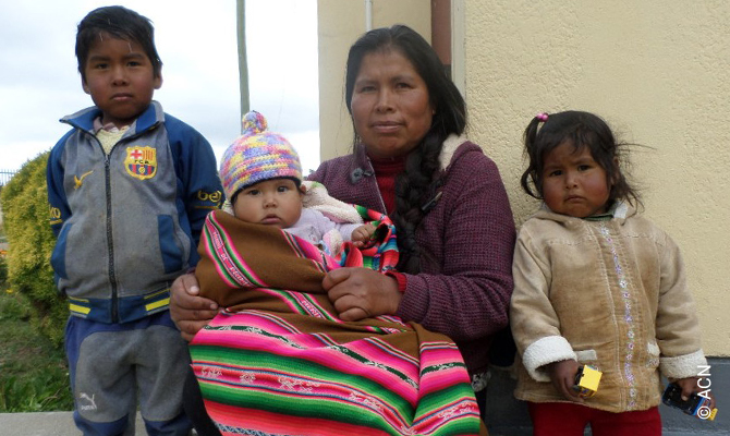 In many places, such as El Alto, there is great poverty.