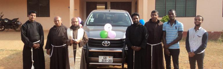 Llevar a Cristo a los pueblos más remotos de Ghana